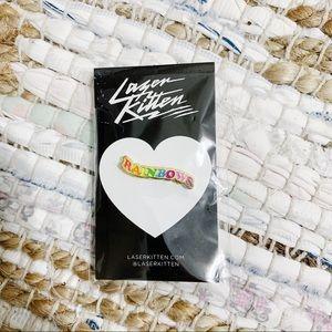 Laser Kitten Pin